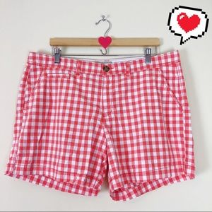 Old Navy Checkered Shorts Size 14 C116